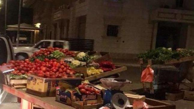مصادرة 9 عربات خضراوات وفواكه وضبط 459 كجم ببلدية العتيبية