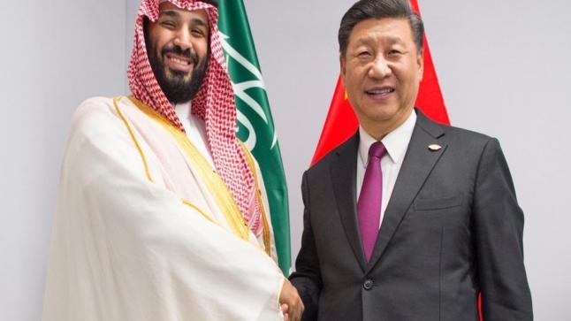 لقاء سعودي صيني على هامش قمة طشقند